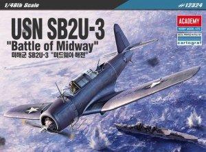 Academy USN SB2U-3 Vindicator Battle of Midway