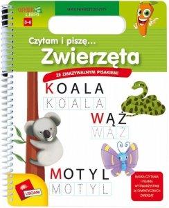 Lisciani Książeczki Carotiny - Czytam i piszę, Zwierzęta