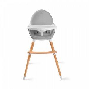 Kinderkraft Krzesełko do karmienia Fini szare
