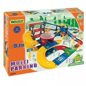 Wader Multi Parking z trasą 9.1 m Kid Cars 3D