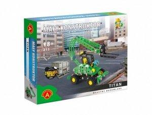 Zestaw konstrukcyjny Mały Konstruktor Maszyny budowlane - Titan