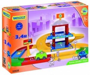 Wader Garaż 2-poziomowy Kid Cars 3D