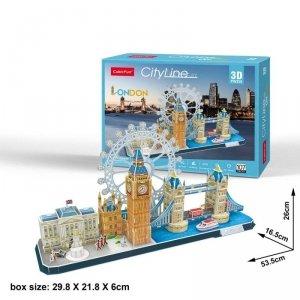 Cubicfun Puzzle 3D City Line London