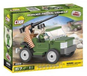 Cobi Klocki Klocki Mała Armia Pojazd patrolowy Straży Granicznej
