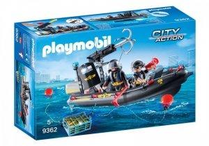Playmobil Zestaw figurek Ponton jednostki specjalnej