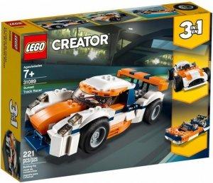 LEGO Klocki Creator  31089 Słoneczna wyścigówka