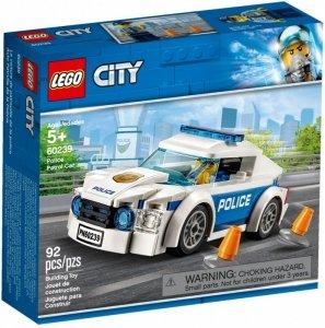 LEGO Klocki City Samochód policyjny