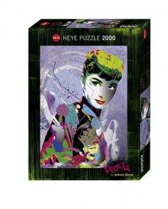 Heye Puzzle 2000 elementów - Audrey II