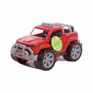 Samochód Legion Nr 2 czerwony