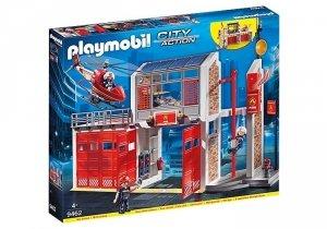 Playmobil Zestaw figurek Duża remiza strażacka 9462