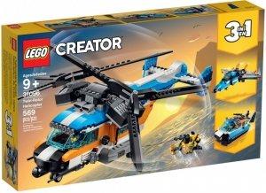 LEGO Klocki Creator Śmigłowiec dwuwirnikowy