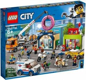 Klocki City Otwarcie sklepu z pączkami 60233