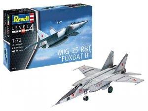 Revell Model plastikowy MiG-25 RBT