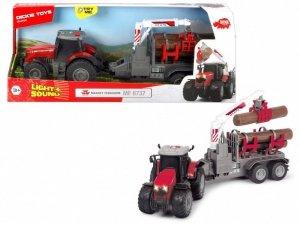 Pojazd Farm Traktor Massey Ferguson, 42 cm