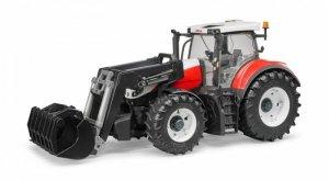 BRUDER Traktor Steyr 6300 Terrus CVT z ładowaczem