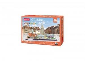 Cubicfun Puzzle 3D Cityline Warszawa
