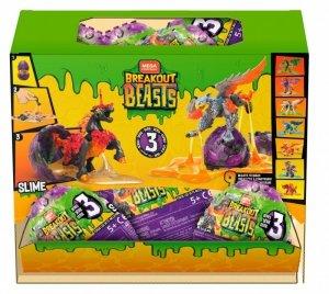Mattel Figurka Breakout Beasts Bestia A st. IV Blazeburst