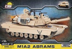 Cobi Klocki Klocki M1A2 Abrams amerykański czołg podstawowy