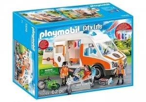 Playmobil Zestaw figurek Karetka ze światłem i dźwiękiem