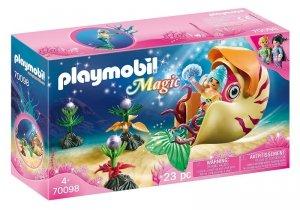Playmobil Zestaw figurek Syrenka w gondoli z muszli ślimaka