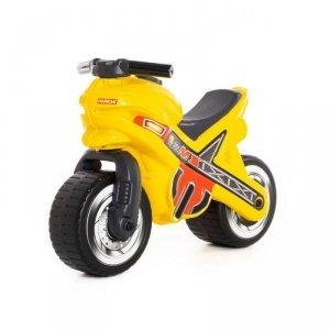 WADER-POLESIE Jeździk motor żółty