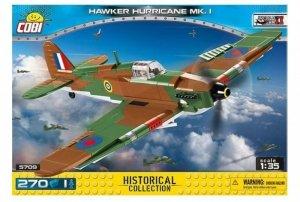 Cobi Klocki Klocki Hawker Hurricane Mk.I brytyjski myśliwiec