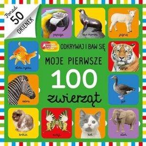 Egmont Moje pierwsze 100 zwierząt