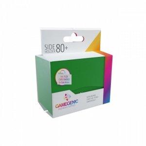 Pudełko Leżące Plastikowe na 80+ kart Zielone
