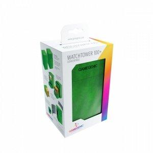 Ekskluzywne pudełko na 100+ kart Zielone