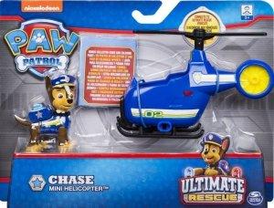 Spin Master Figurka z mini pojazdem Psi Patrol Chase
