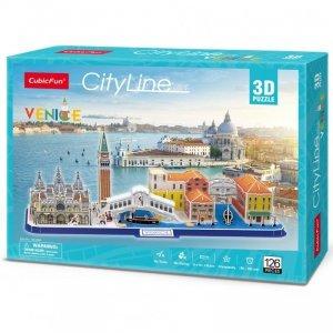 Cubicfun Puzzle 3D City Line Wenecja