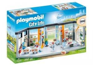 Playmobil Zestaw figurek Szpital z wyposażeniem 70191