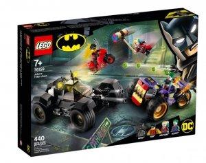 Klocki Super Heroes Trójkołowy motocykl Jokera
