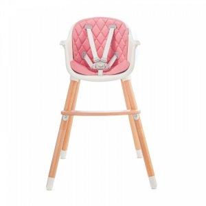 Krzesełko do karmienia Tini Pink