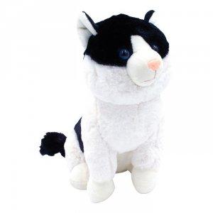 Axiom Maskotka Kotek Mruczuś czarno-biały 27cm
