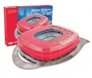 Symag Puzzle 3D Stadion Allianz 119 elementów