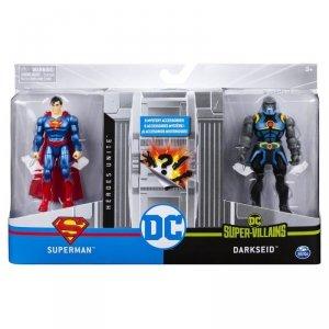 Zestaw z figurkami 4 Superman VS Darkside 2 DC