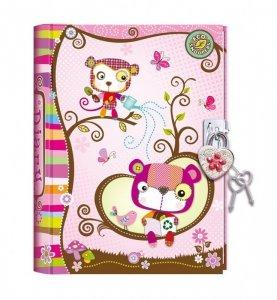 Pulio Pecoware Pamiętnik na kłódkę Zwierzątka