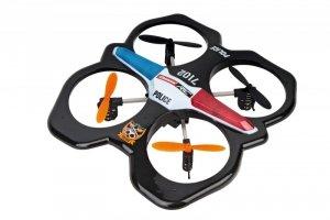 Carrera Dron RC Quadrocopter Police 2,4GHz