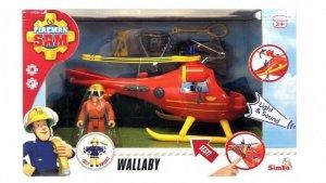 Dickie Helikopter ratunkowy z figurką Strażak Sam