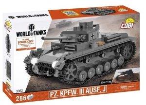 Klocki World of Tanks PZ. KPFW. III AUSF.J 1/48