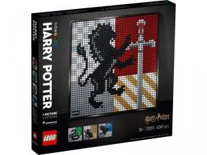 LEGO Klocki Art 31201 Harry Potter Herby Hogwartu