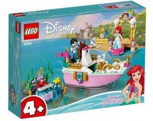 LEGO Klocki Disney Princess 43191 Świąteczna łodź Arielki