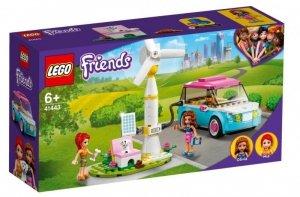 LEGO Klocki Friends 41443 Samochód elektryczny Olivii