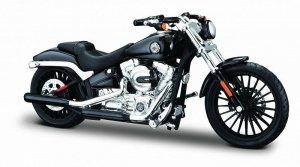Maisto Motocykl HD 2016 Breakout 1/18 Czarny