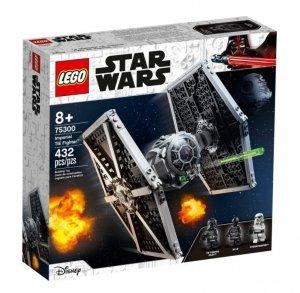 LEGO Klocki Star Wars 75300 Imperialny myśliwiec TIE