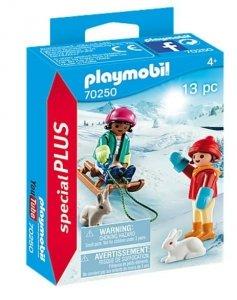 Playmobil Zestaw figurek 70250 Dzieci na sankach