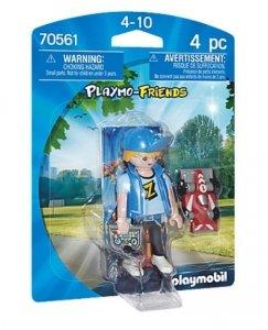 Playmobil Figurka 70561 Nastolatek z samochodem RC