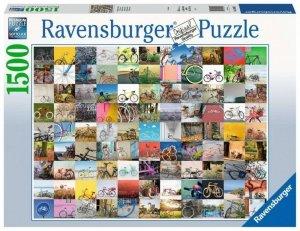 Ravensburger Polska Puzzle 1500 elementów 99 rowerów
