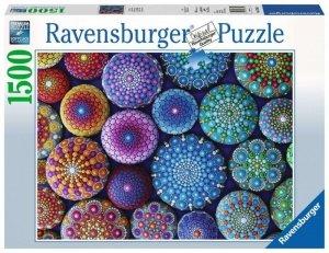 Ravensburger Polska Puzzle 1500 elementów Kolorowe kamienie
